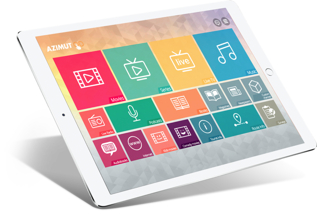 Tablet with AOD software