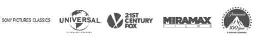 Movie companies logos